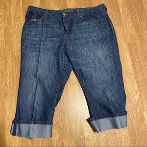 Plus size Crop jeans